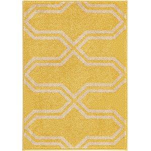 2x3 Yellow Trellis  Rugs!