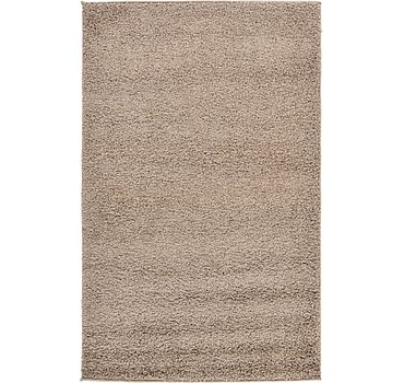 99x160 Solid Frieze Rug