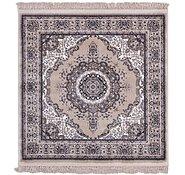 Link to 125cm x 125cm Mashad Design Square Rug