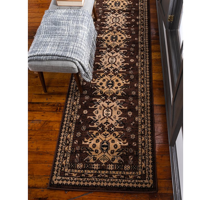 3' x 16' 5 Heriz Design Runner Rug