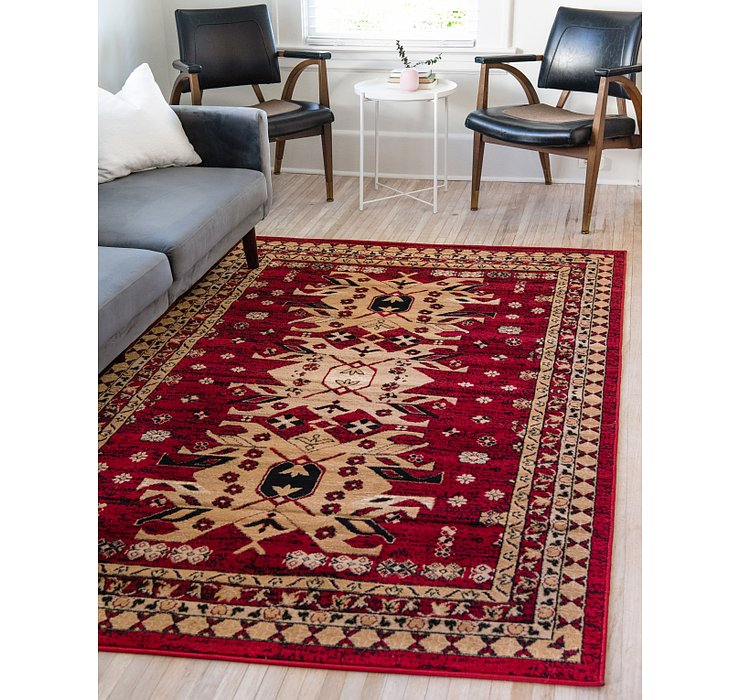 Red Heris Rug