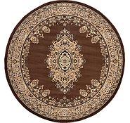 Link to 245cm x 245cm Mashad Design Round Rug