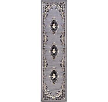 79x305 Mashad Design Rug
