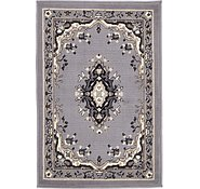Link to 2' 2 x 3' Mashad Design Rug
