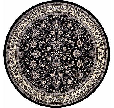 244x244 Kashan Design Rug