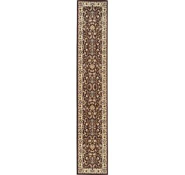 89x500 Kashan Design Rug