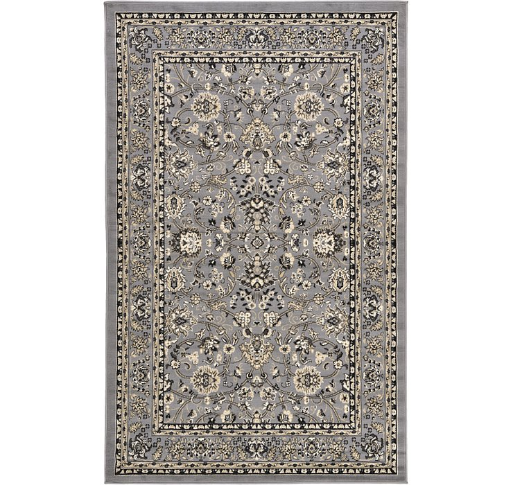 5' x 8' Kashan Design Rug