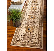 Link to 2' 7 x 10' Heriz Design Runner Rug