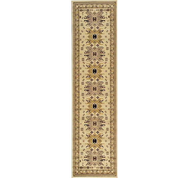Unique Loom 2' 7 x 10' Taftan Runner Rug