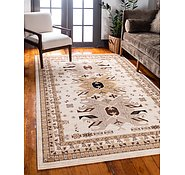 Link to 8' x 10' Heriz Design Rug