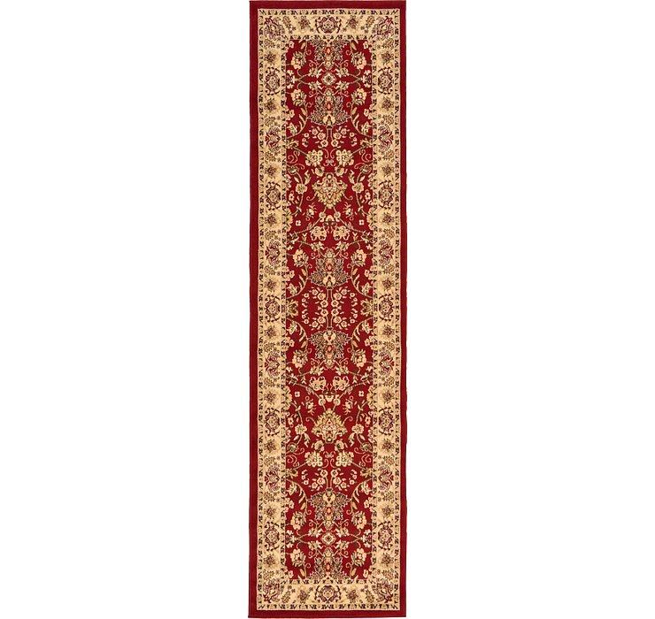 2' 7 x 10' Kashan Design Runner Rug