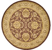 Link to 245cm x 245cm Classic Agra Round Rug