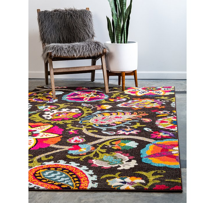 Brown Hyacinth Rug