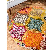 Link to Unique Loom 6' x 6' Barcelona Round Rug