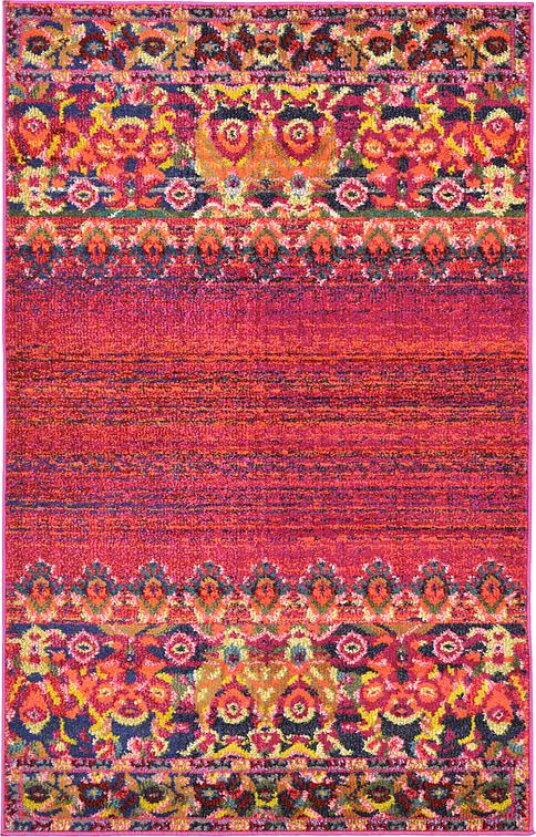 Red 100cm X 160cm Palazzo Rug Area Rugs Au Rugs