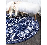 Link to Unique Loom 6' x 6' La Jolla Round Rug