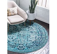 Link to Unique Loom 6' x 6' Medici Round Rug