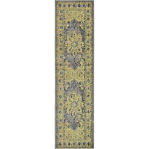 Unique Loom 2' 7 x 10' Medici Runner Rug