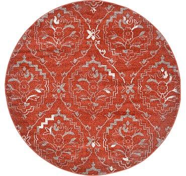 185x185 Damask Rug
