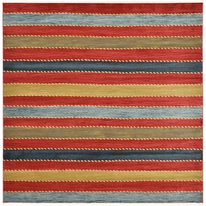 Unique Loom 10' x 10' Fars Square Rug