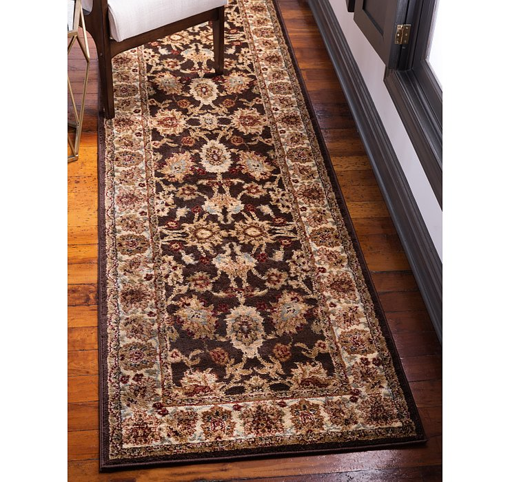 Brown Aditi Runner Rug