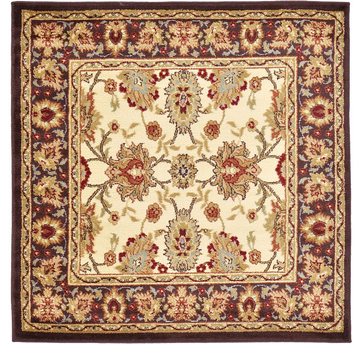 Cream Aditi Square Rug