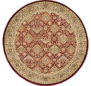 Link to Unique Loom 6' x 6' Agra Round Rug