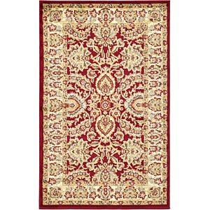 Link to 3' 3 x 5' 3 Classic Agra Rug page
