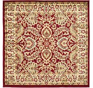 Link to 4' x 4' Classic Agra Square Rug