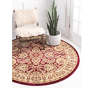 Link to 185cm x 185cm Classic Agra Round Rug