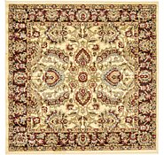 Link to 125cm x 125cm Classic Agra Square Rug