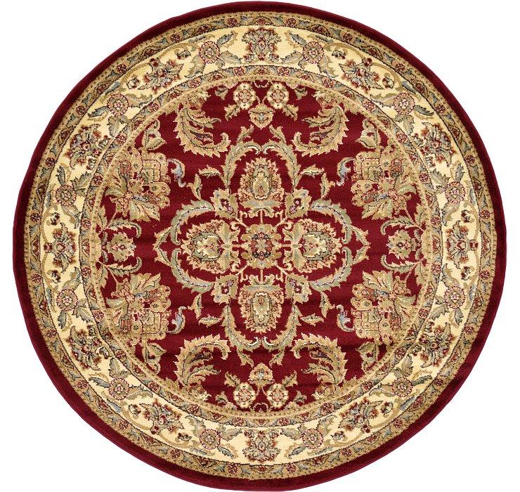 6' x 6' Classic Agra Round Rug