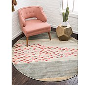 Link to Unique Loom 6' x 6' Fars Round Rug