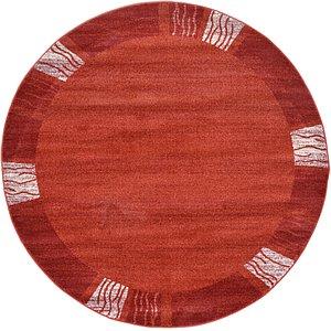 Unique Loom 6' x 6' Del Mar Round Rug