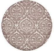 Link to 8' x 8' Damask Round Rug