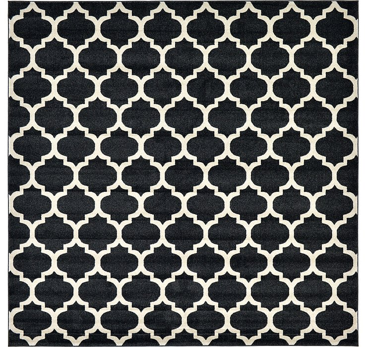 10' x 10' Lattice Square Rug
