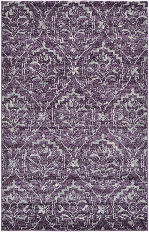 purple damask rug for - photo #14