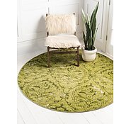 Link to Unique Loom 8' x 8' Damask Round Rug