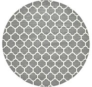 Link to Unique Loom 12' 2 x 12' 2 Trellis Round Rug