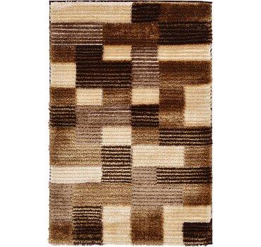 99x150 Textured Shag Rug