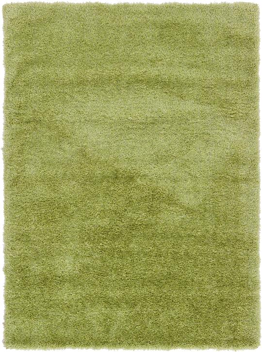 Light Green 5 3 X 7 5 Luxe Solid Shag Rug Area Rugs