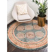 Link to Unique Loom 8' x 8' Fars Round Rug