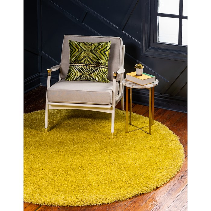 8' x 8' Luxe Solo Round Rug