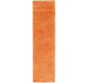 79x305 Luxe Solid Shag Rug