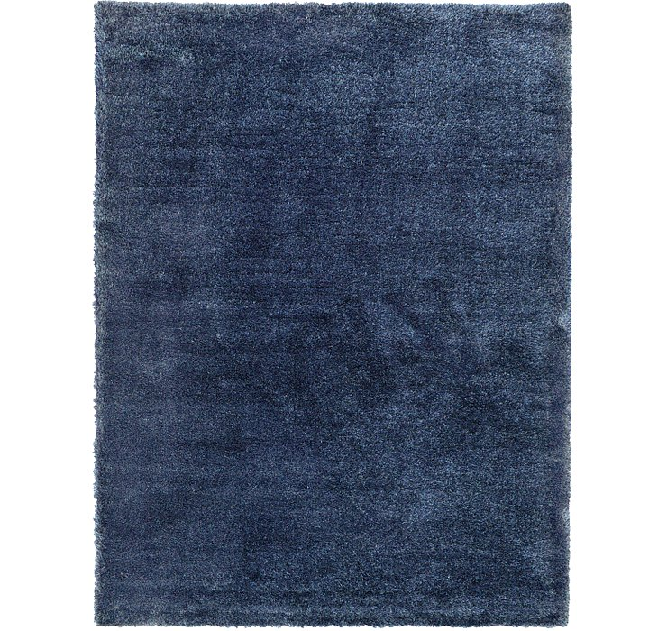 9' x 12' Luxe Solid Shag Rug