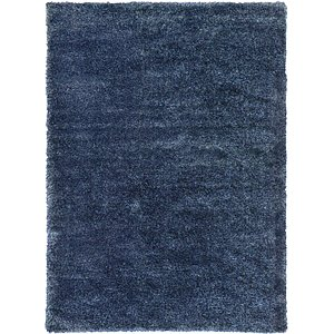 7' x 10' Luxe Solid Shag Rug