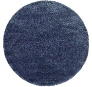 Link to 6' x 6' Luxe Solid Shag Round Rug