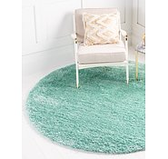 Link to 8' x 8' Luxe Solid Shag Round Rug