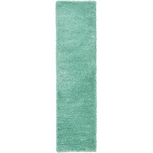 Link to 2' 7 x 10' Luxe Solid Shag Runner... page