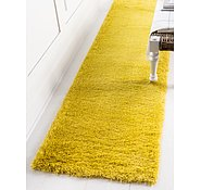 Link to 2' 7 x 10' Luxe Solid Shag Runner Rug